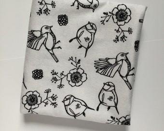 Ready to ship!! Bird swaddling blanket
