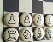 Fridge Magnet Chess: chess game, whiteboard game, board game, chess set, boardgame, fridge magnets, magnetic chess, chess board, laminated