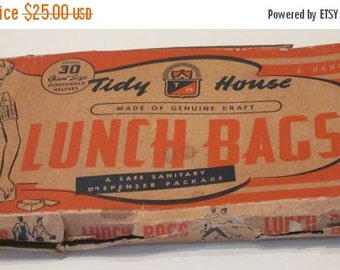 MOVING SALE Very Vintage Lunch Bags