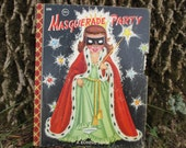 Vintage Childs Book Masquerade Party 1955