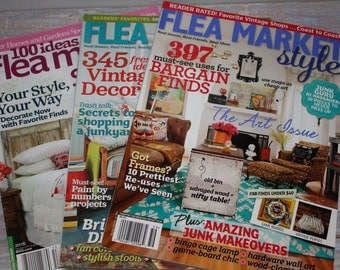 Flea Market decorating magazines- Free Shipping