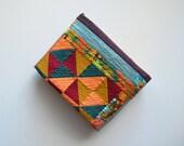 Modern Baby Quilt, Medallion Quilt, Wall Hanging, Art Quilt, Geometric Quilt