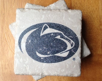 Penn State Drink Coasters Set of 4