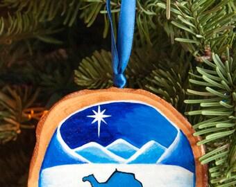 Christmas Camel Ornament