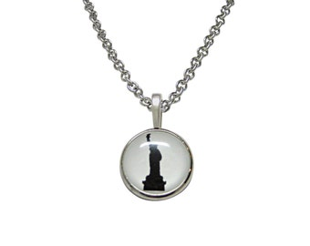 Iconic Statue of Liberty Pendant Necklace