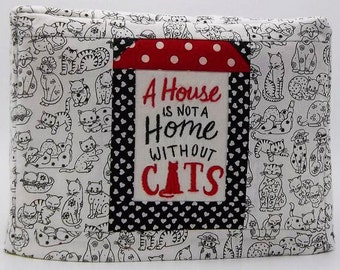 I Love Cats Toaster Cover