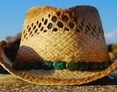 Autumn Straw Cowgirl Hat