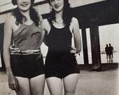 Original Antique Photograph Til We Meet Again 1932