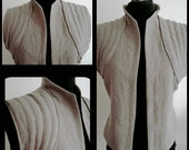 MADE TO ORDER from June 2016:Rey vest, linen, Star Wars, cosplay, jedi