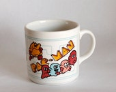 35% OFF // Vtg Pac Man Arcade Coffee Mug
