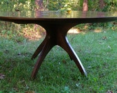 """Reserved Listing for Amy for a 60"""" Walnut Walking Table with Thick Top"""