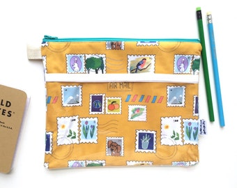 You've Got Mail Divided Pouch Medium (handmade philosophy's pattern)