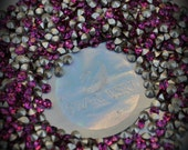 Xilion 1028 21pp Genuine Swarovski Crystals Fuchsia Rounds Foiled Rhinestones 144pcs 1 Gross