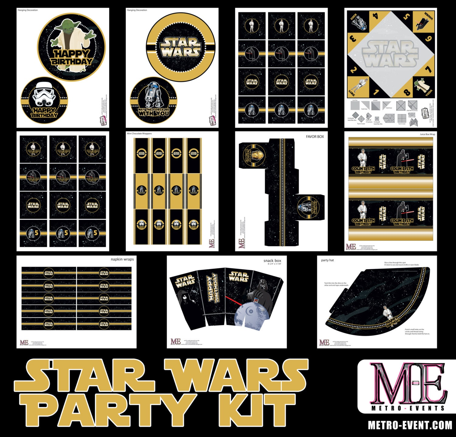 like this item - Star Wars Party Decorations