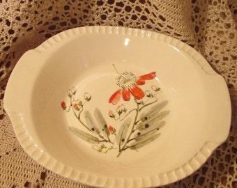 Vintage Salem China Moon Flower Pattern Bowl