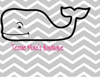 Whale SVG/DXF/EPS Instant Download