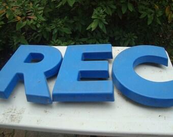 Retro Plastic Letters