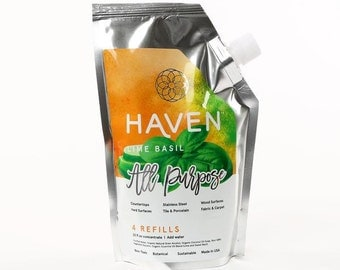 HAVEN All Purpose - Lime Basil - 4 Refills