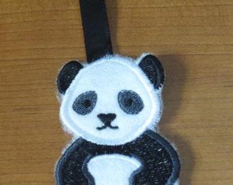 Cute Critter panda keychain