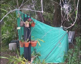"Canvas Cabana Tent, Vintage Hirsch-Weis ""Steelheader"""