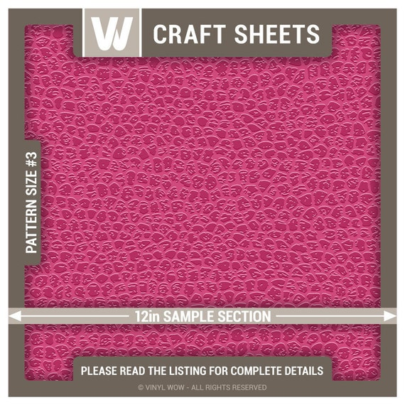 Adhesive vinyl craft sheet faux leather pink 27 in x by for Leather sheets for crafting