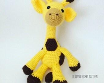 Geri the Giraffe Amigurumi - Made To Order