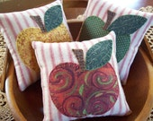 ELEGANT APPLES Bowl Filler Pillow Tucks
