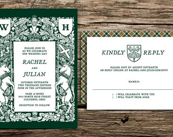 medieval wedding invitations | etsy au, Wedding invitations