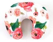 Boppy Cover Floral Dreams. Boppy. Nursing Pillow. Boppy Pillow Cover. Boppy Slipcover. Minky Boppy Cover. Floral Boppy Cover.