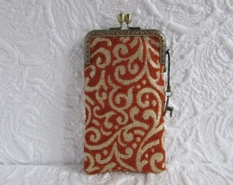 84A - iPhone 6 Case Fabric, iPod Touch Case, Cell Phone Case, Samsung Galaxy Case, cover handmade
