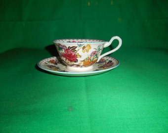 One (1), Tea Cup & Saucer, from Wedgwood, in the A 6715 Pattern.