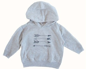 Toddler Stacked Arrows Hoodie