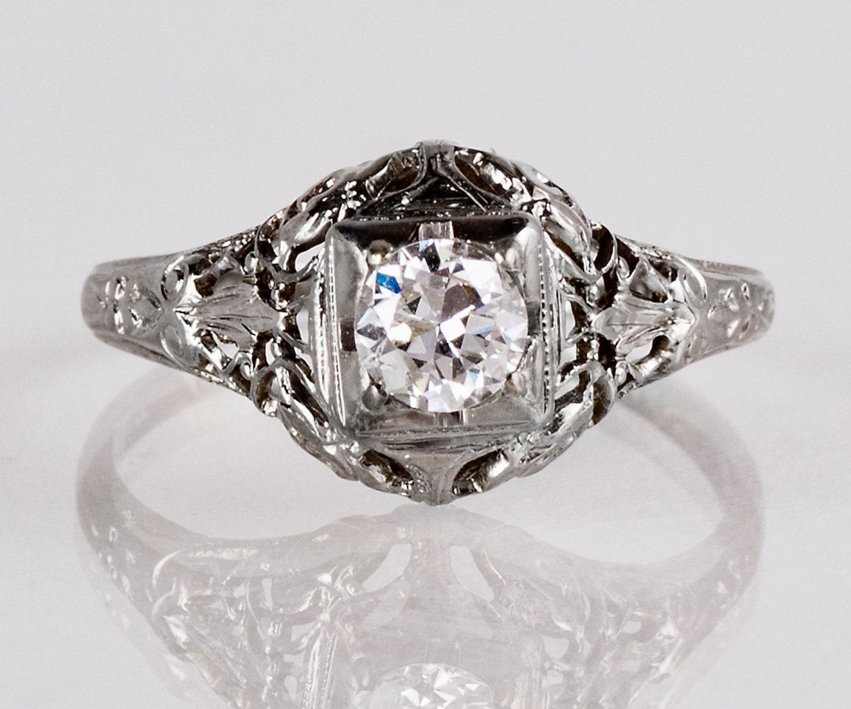 antique engagement ring edwardian engagement ring antique