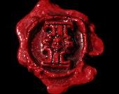 RESERVED  - Purity seal  warhammer 40K wh40k space scout marine eldar ork necrons tau larp Red dark handwritten scroll parchment