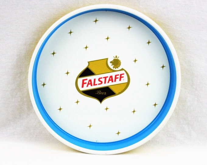 Vintage 1960s Falstaff Brewing Co. Serving Tray