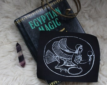 Assyrian Harpy / Image of Ishtar Patch
