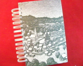 It's a Wonderful Life holiday memory blank book journal diary planner