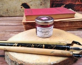 Calligraphy Pink Ink for Dip Pens and Quills - Natural Pigment Ink from Mineral and Stones - Ideal for Copperplate