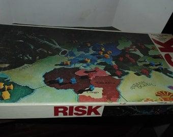Vtg 1980 RISK Parker Brothers World Conquest Family Board Game 100% Complete war