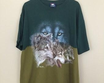 Vintage 1990s Wolves T-Shirt
