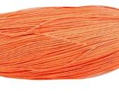 5M waxed cotton cord, orange, 1.5mm Diameter for Bracelet/ Necklace