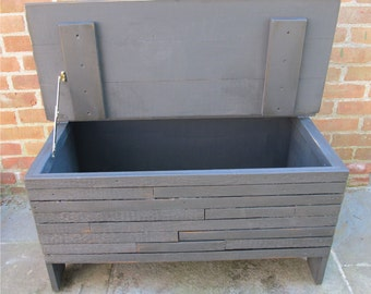 Storage Trunk, Reclaimed Wood Trunk, Coffee Table