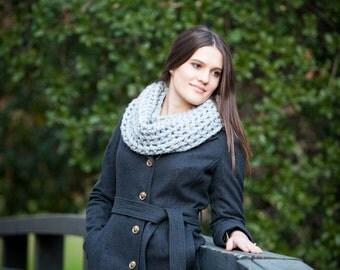 Crochet neck warmers
