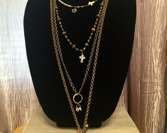 Chains, Crystals, & Crosses