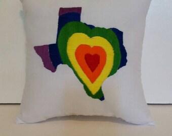 Texas Forever Pillow