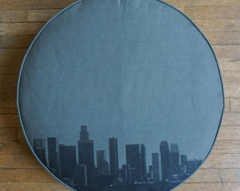Downtown Los Angeles Cushion Cake
