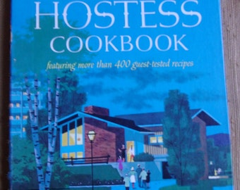 Vintage Cookbook - Betty Crocker's Cookbook, Hostess Cookbook, Stated First Edition, First Printing, 1967 General Mills