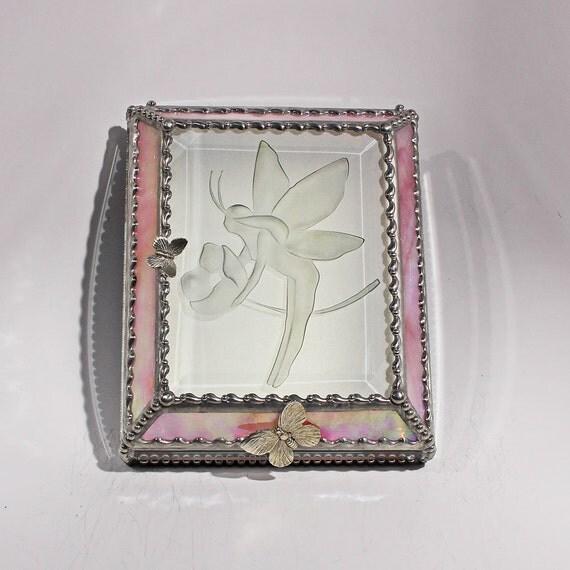 Etched Fairy - Treasure Box