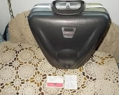 Bowling Bag Million Miler Grey Vintage Hard Shell Case with History in it.. /Not included in Coupon Discount Sale :)S