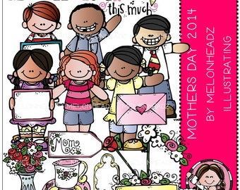 Mother's Day clip art - 2014 - COMBO PACK